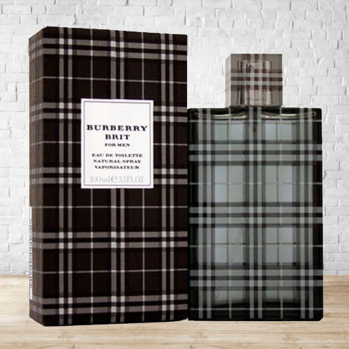 Capturing Attention with Burberry Brit EDT for Men