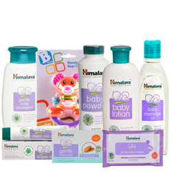 Marvelous Combo of Baby Care Items from Himalaya