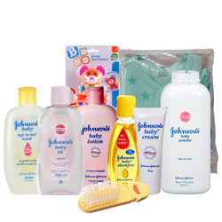 Marvelous Johnson Baby Gift Set
