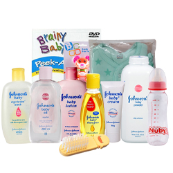 Marvelous Johnson Baby Care Gift Set