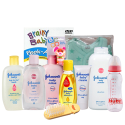 Stunning Johnson Baby Care Gift Hamper