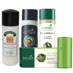 Brilliant Assemble of Biotique Gift Combo for Men