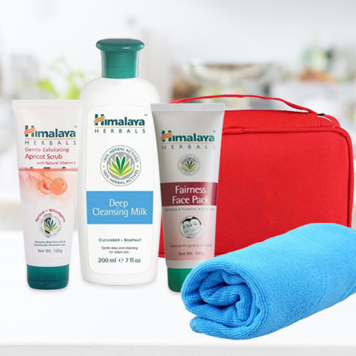 Remarkable 3-in-1 Herbal Face Pack Hamper from Himalaya