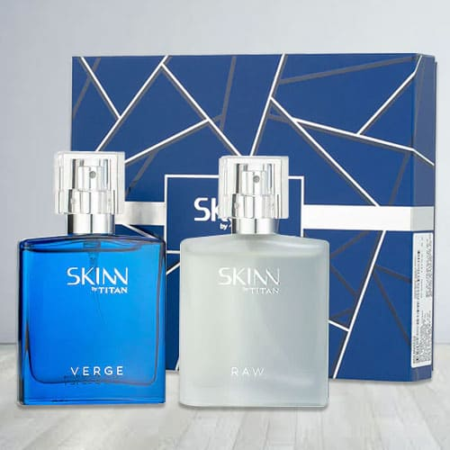 Exciting Skinn Verge and Raw Fragrances Set for Men