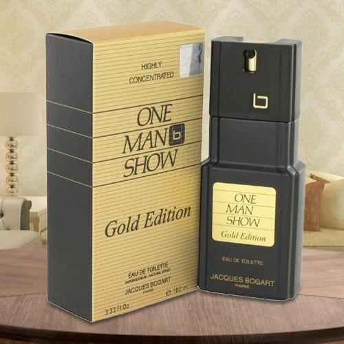 Marvelous One Man Show Gold Jacques Bogart EDT Spray