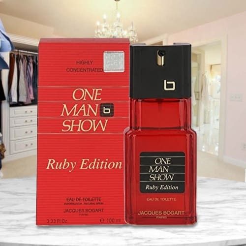 Exclusive Bogart One Man Show Ruby Edition Perfume for Men