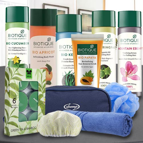 Exclusive Biotique Spa Hamper