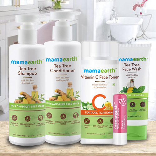 Remarkable Mama Earths Hair N Face Care Hamper