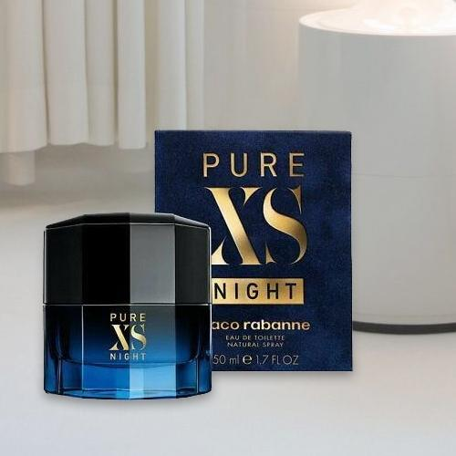 Musky Paco Rabanne Pure XS Night Perfume for Gents<br>