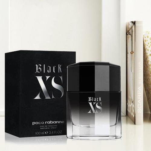 Wonderful Gift of Paco Rabanne Black XS Eau De Toilette for Men<br>