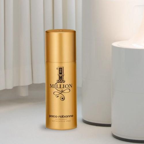Exclusive Mens Present of Paco Rabanne 1 Million Deodorant Spray