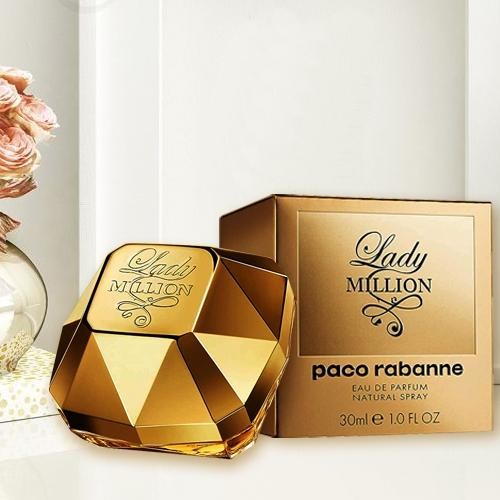 Appealing Paco Rabanne Lady Million Eau de Perfume for Women