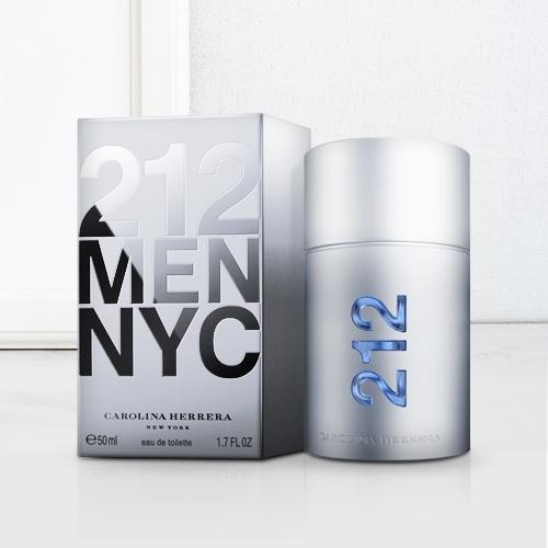 Seductive Carolina Herrera 212 NYC Men Eau de Toilette Gift for Him