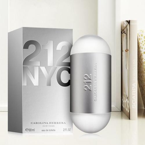 Aromatic Gift of Carolina Herrera 212 NYC Eau de Toilette for Ladies