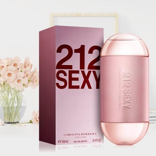Delightful Gift of Carolina Herrera 212 Sexy Eau de Perfume  for Her