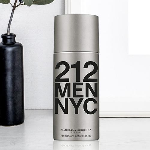 Remarkable Present of Carolina Herrera Men 212 NYC Deodorant