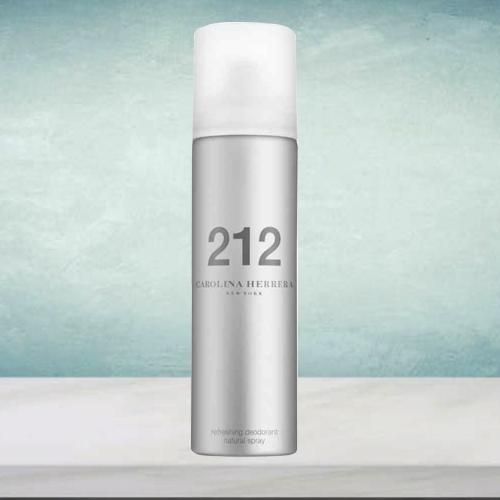 Sensational Carolina Herrera 212 NYC Deodorant Spray for Her