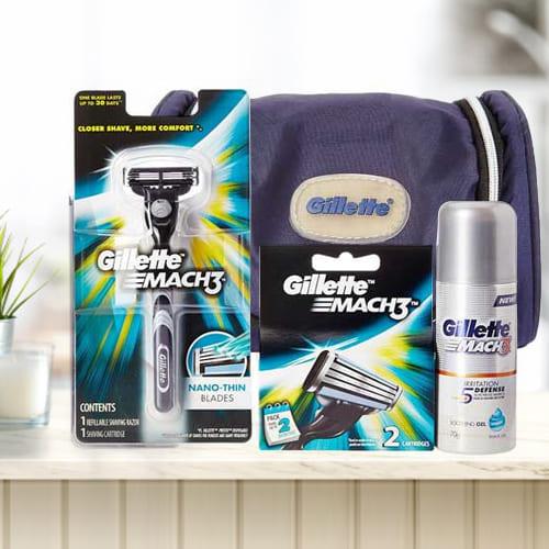 Amusing Gillette Mach3 Travel Pack for Men