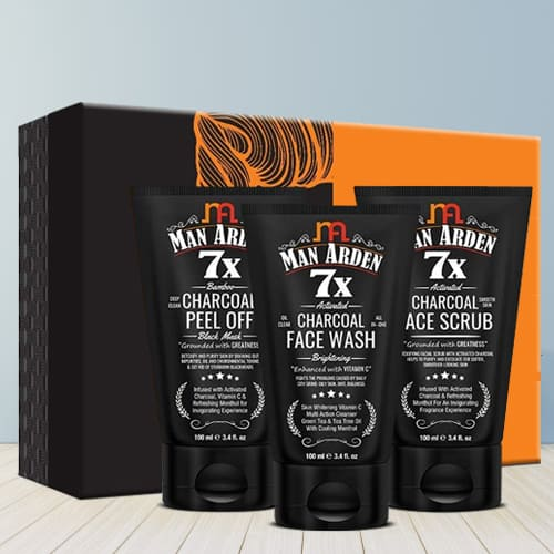 Exclusive Man Arden Charcoal Anti Pollution Kit