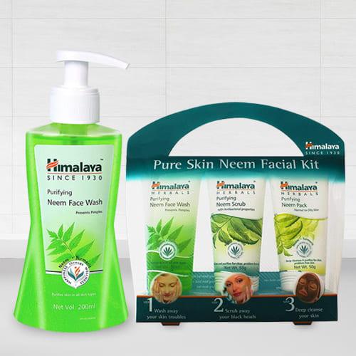 Beautiful Look Pure Skin Neem Facial Kit from Himalaya