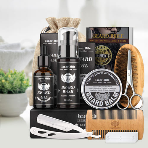 Appealing Look Beard Trimming Kit for Men