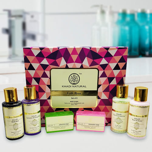 Feel Better Khadi Natural Skin N Hair Care Gift Pack
