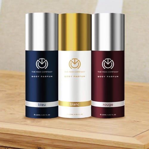Wonderful The Man Company Body Perfume Trio Deodorant Set for Men