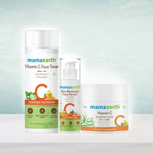 Feel Better Mama Earth Night Regime Skin Care Combo