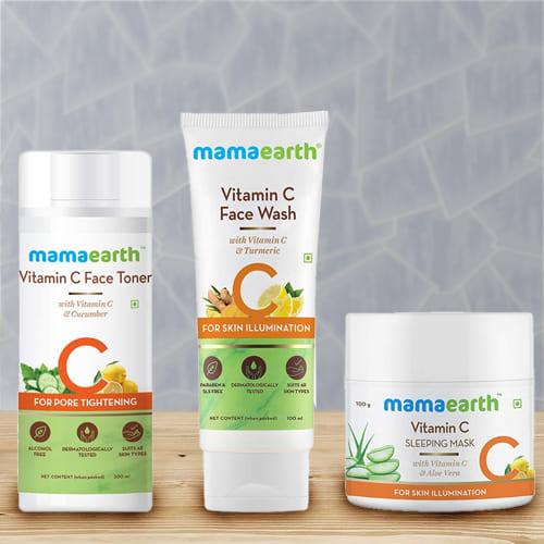 Beauty Special Mama Earth Overnight Skin Glow Combo