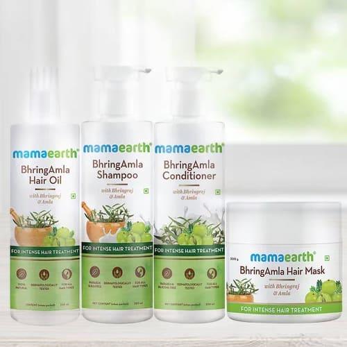 Effective Mamaearth BhringAmla Hair Care Kit
