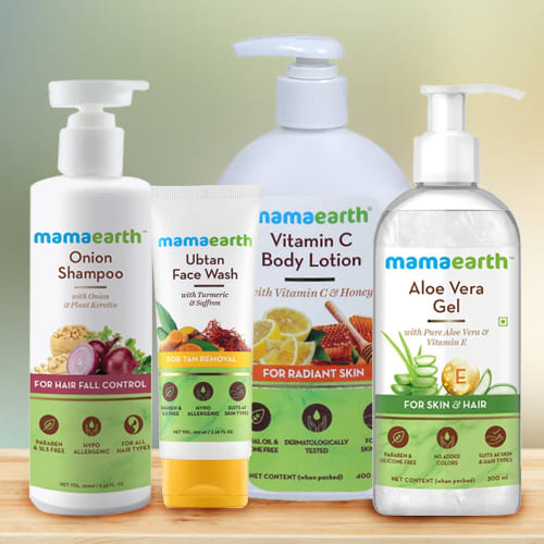 Soft Touch Mamaearth Body Care Hamper