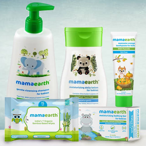 Pleasant Baby Care Hamper from Mamaearth