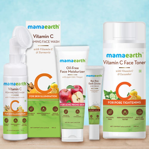 Outstanding Mamaearth Face Care Hamper