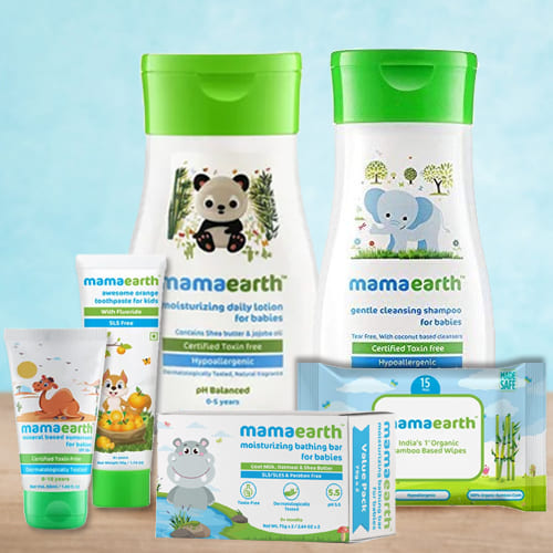 Smooth Touch Mamaearth Baby Skin Care Hamper