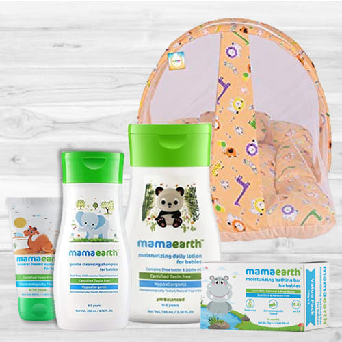 Affectionate New Born Baby Care Gift Hamper