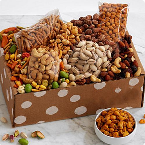 Amazing Gift Box of Dried Fruits n Gourmet