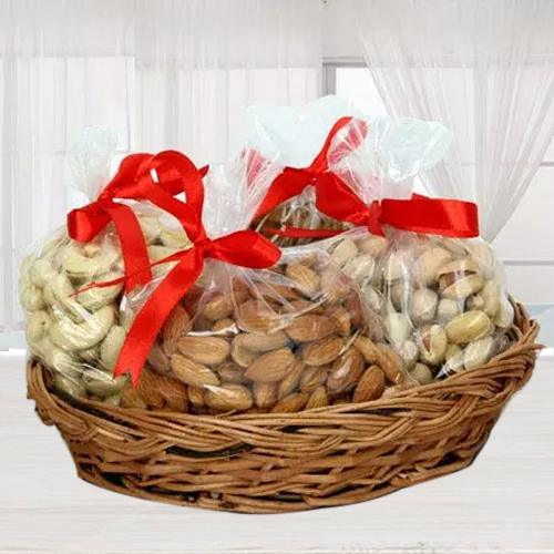 Healthy Basket of Premium Dry Fruits