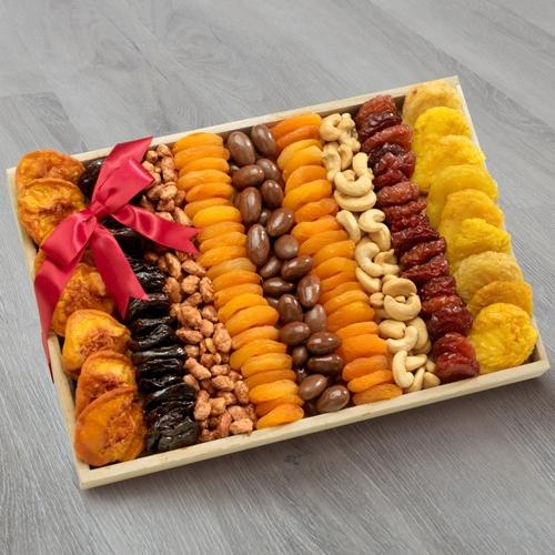 Ambrosial Dried Fruits and Nuts Gift Tray