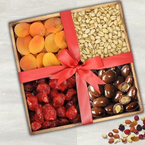 Ambrosial Dry Fruits Gift Tray