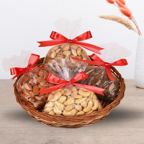 Marvelous Assorted Dry Fruits Basket