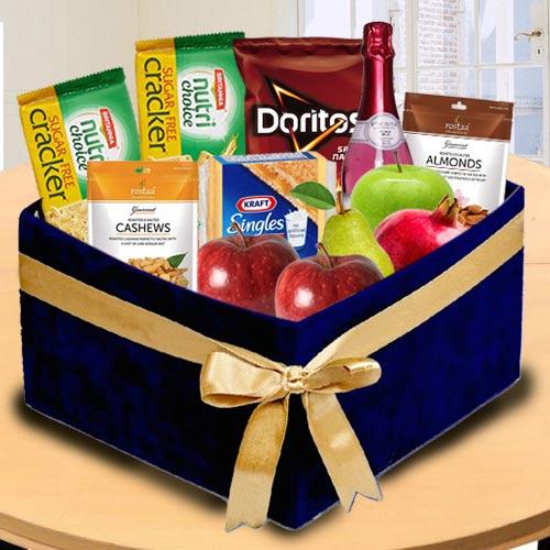 Marvellous Box of Fresh Fruits N Assortments