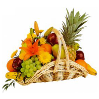 Juicy Fresh Fruits Basket
