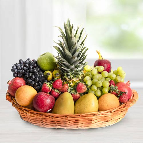 Amazing Basket of Fresh Fruits