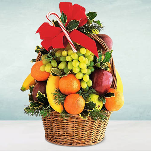 Natures-Finest Seasonal Fruits Basket