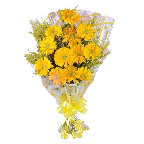 Elegant Gerberas Bouquet
