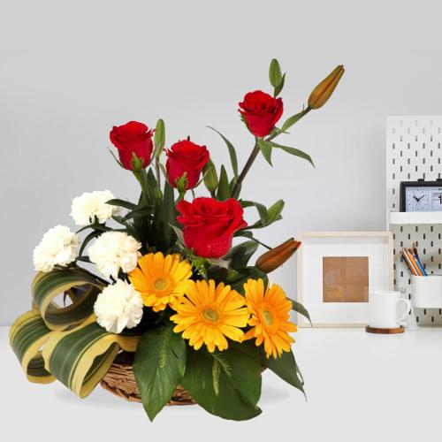 Ravishing Assortment of Seasonal Blooms