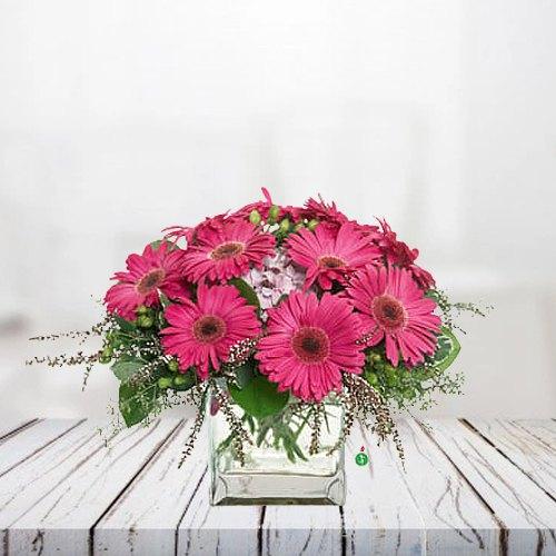 Pretty Bouquet of Pink Gerberas