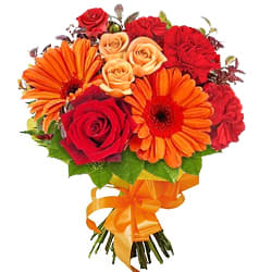Beautiful Bouquet of Seasonal Flowers