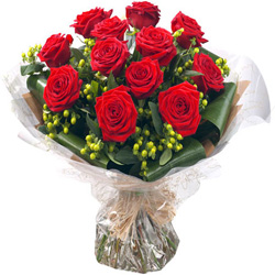 Delightful Red Rose Bouquet