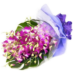Beautiful Purple Orchids Bouquet
